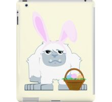 Cute Easter Yeti iPad Case/Skin