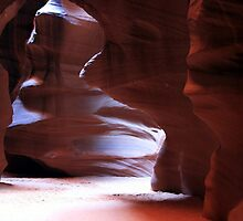 Antelope Canyon in Winter by Terence Russell