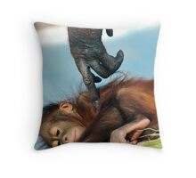 Wake Up Little One Throw Pillow