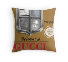 Legend of Gucci Throw Pillow