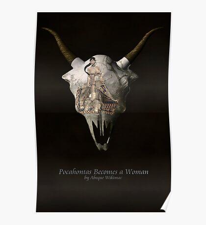 Pocahontas Becomes a Woman Poster