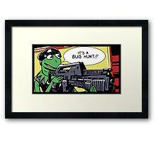 """""""It's a bug hunt!!"""" Framed Print"""