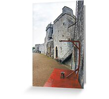 The Castle Gibbet Greeting Card
