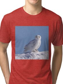 Saint Of The Snow Tri-blend T-Shirt