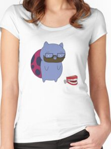 Burnie Catbug Women's Fitted Scoop T-Shirt