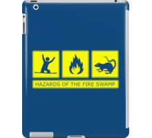 Hazards of the Fire Swamp iPad Case/Skin
