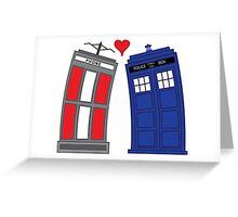 Timey Wimey True Love Greeting Card