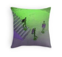 Blind Obedience Throw Pillow