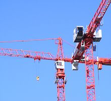Tower Cranes by Matthew Colvin de Valle