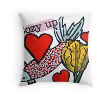 Cozy Up Throw Pillow