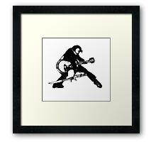 The Velvet Assassin Framed Print