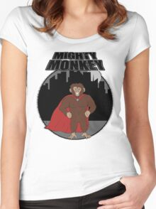 Mighty Monkey Women's Fitted Scoop T-Shirt