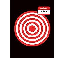 Hi, my name is Mark Photographic Print