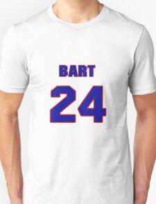 National baseball player Bart Johnson jersey 24 T-Shirt