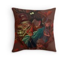 Venture into The Unknown Throw Pillow