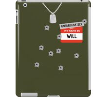 Fire at Will ! iPad Case/Skin