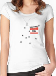 Fire at Will ! Women's Fitted Scoop T-Shirt