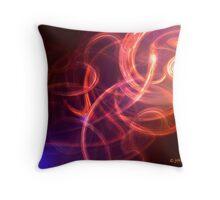 """waves of light"" Throw Pillow"