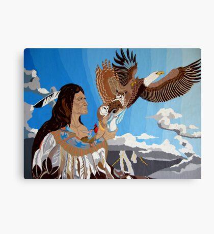 Chief Of Flight Canvas Print