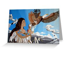 Chief Of Flight Greeting Card