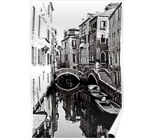 Reflections on a Canal Poster