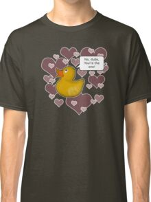 ♥ Rubber Ducky ♥ -girly Classic T-Shirt