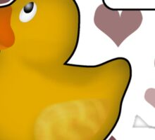 ♥ Rubber Ducky ♥ -girly Sticker