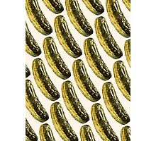 Pickle Pattern Photographic Print