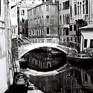 Reflections of a Bridge by Venice