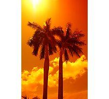 Summer Twins Photographic Print