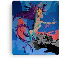 Reptilian Magick Canvas Print
