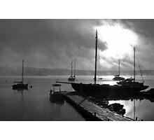 Glistening Morning Light Photographic Print