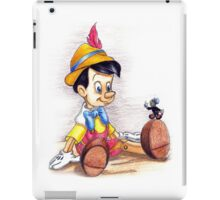 And always let your conscience be your guide iPad Case/Skin