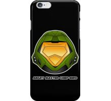 Angry Master Chief Bird iPhone Case/Skin