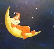The Orange Man on the Moon by maryktiernan