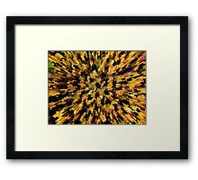 """""""Over-Crowded"""" Framed Print"""