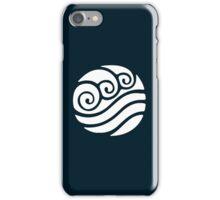 White Waterbending Emblem iPhone Case/Skin