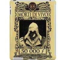 Ezio - Morti di Vivo iPad Case/Skin