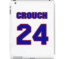 National baseball player Bill Crouch jersey 24 iPad Case/Skin