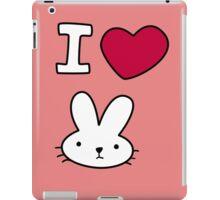 I<3Bunny iPad Case/Skin