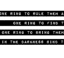 One Ring by notoddbutood
