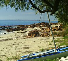 Peaceful Day on Geographe Bay by Patricia Elliott