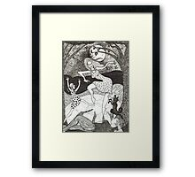 Mama did the Moon Dance Framed Print