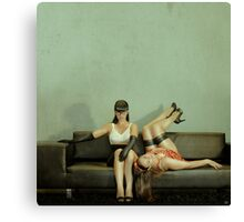 Good Sister, Bad Sister Canvas Print