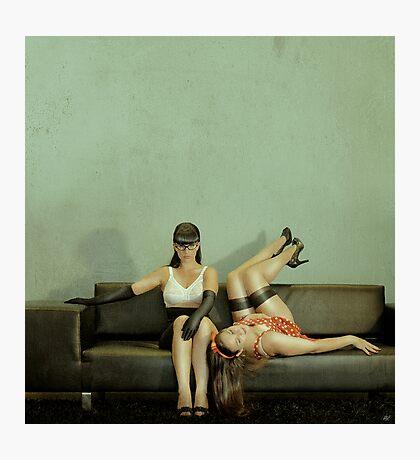 Good Sister, Bad Sister Photographic Print