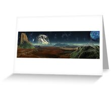 Gate Worlds Greeting Card