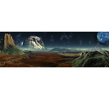 Gate Worlds Photographic Print