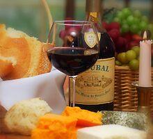 Wine V by Robin Webster