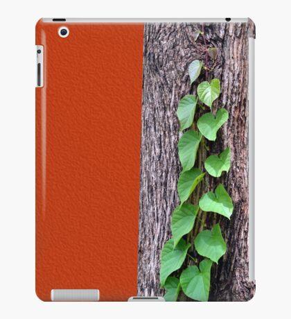 Creeper, Red, Tree iPad Case/Skin