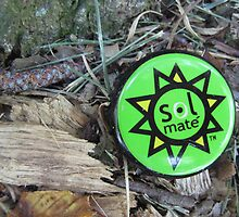 bottle cap by the Etowah River in northwest rural Georgia by Laurkat